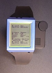 Ibm-linux-wrist-watch