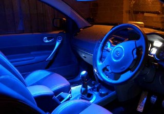 Car interior led light
