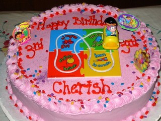Kids birthday cakes image