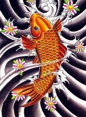 Koi Fish Tattoo Image