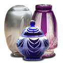 A beautiful cremation urn