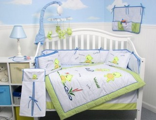 Frog Themed Bedding Graphic